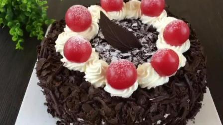 烘焙糕点 蛋糕的制作过程视频 轻芝士蛋糕的做法
