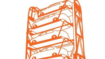pcx-12车位-垂直循环立体车库
