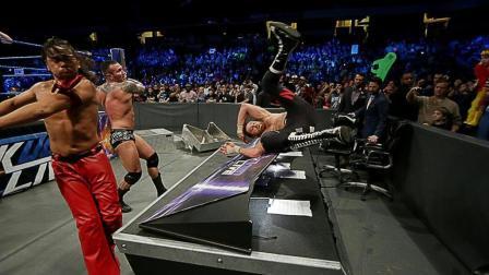 """真不愧是WWE""""传奇杀手"""", 暴揍萨米, 几乎要了他的命!"""
