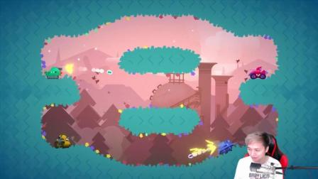 环状世界的坦克大战Treadnauts-籽岷的新游戏直播体验视频