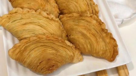 东南亚经典风味美食小吃螺旋咖喱角
