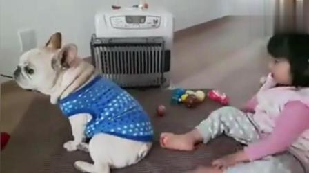 两个正在争暖器的熊孩子, 超级可爱