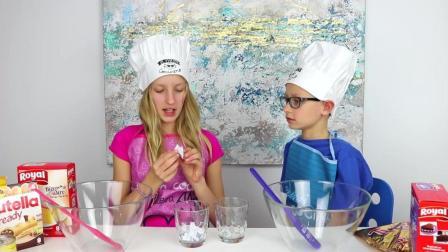 挑战香草和巧克力蛋糕
