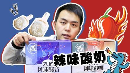 小伙挑战TFBOYS代言的咸辣酸奶, 喝完不过瘾自制辣酸奶