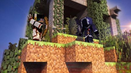〔极冰X极影〕王者争霸PVP瞎搞 双人视角《我的世界Minecraft喵星国度》