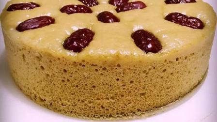 这样子做出来的红糖发糕口感润而不黏, Q弹有嚼劲, 好吃的飞起来