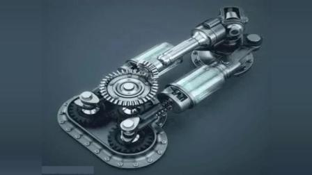有趣: 神奇的机械原理, 这个是发动机吗, 小弟看不懂了