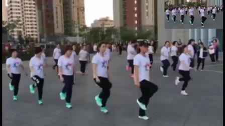 鬼步舞教学视频鬼步舞小步花式 河南省洛阳市老年鬼步舞教学 秧歌步的分解