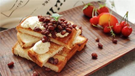桌饭 第一季 网红早餐都这么吃 天气冷的不想出门吃早餐 试试这份蜜红豆煎吐司