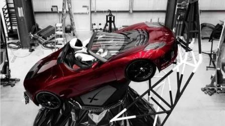 特斯拉汽车正在飞往火星! 疯狂富豪马斯克带特斯拉圆太空梦