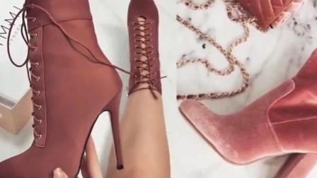 这几款长筒靴生活中很少看到有人穿, 穿上你就是女王!
