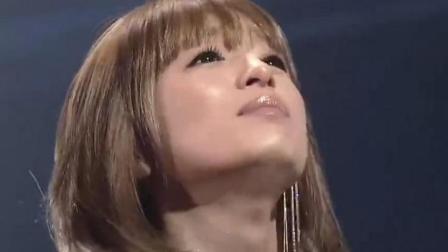 《犬夜叉》片尾曲《Dearest》现场版, 滨崎步含泪深情演唱, 回忆满满