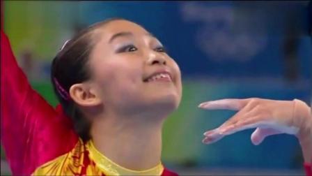 中国国家女子体操队跳《掀起你的盖头来》, 全场掌声雷动!