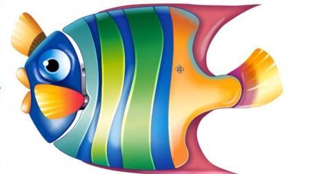 平面设计  CDR教程 插画篇-跃动的金鱼