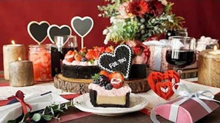 【喵博搬运】【食用系列】来准备一份浪漫的情人节大餐吧~情人节爱心蛋糕