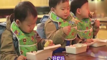 大韩喂民国吃蛋糕, 民国的胃口真是惊人, 爸爸都在不停收空壳!