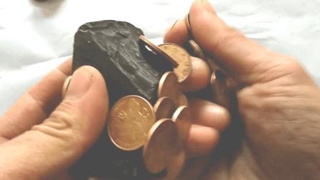 硬币突然没用了《磁铁吸金属硬币神器》