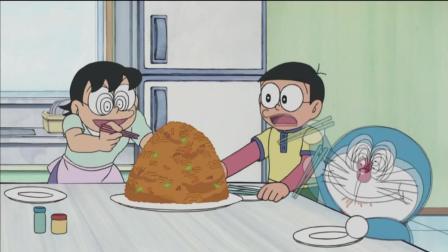 哆啦A梦第四季: 大雄他们用什么办法送爸爸去上班?