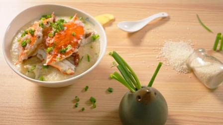 冬日暖心粥: 澳门名吃鲜甜清香的水蟹粥