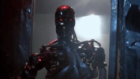 这是什么机器人, 火都烧不坏, 遇到这样的杀人机器只有跑的份