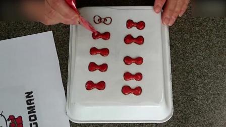 蛋糕裱花教学视频Kitty猫草莓蒸蛋糕, 小盆友们应该喜欢西点培训