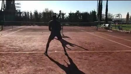 海特网球教学-正反手灵敏性接球和击球训练