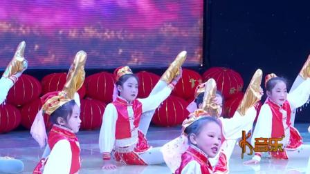 可爱的孩子们表演的少儿舞蹈《吉祥》