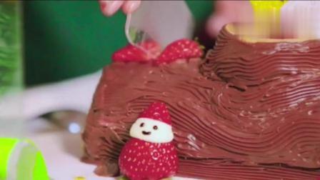 """大胃王朵一吃树根蛋糕, 怪物史莱克""""甜蜜乱入拆房子?"""