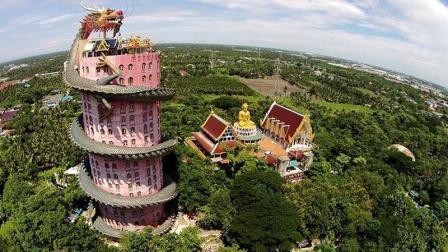 """全球最""""霸气""""的寺庙: 龙身盘旋当楼梯, 却拒绝成为旅游景区!"""