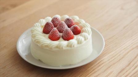 烘焙, 超简单的法式草莓奶油蛋糕