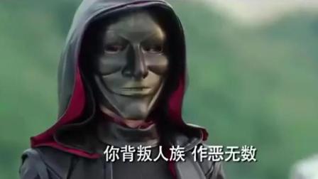黑袍终于摘下面具, 没想到是个大美女, 鹿晗都惊到了!