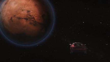 猎鹰重型火箭试射全程模拟动画——车头朝向火星的那一刻, 真的太燃了……