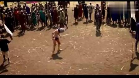 非洲原始部落棍子打架, 下手真黑