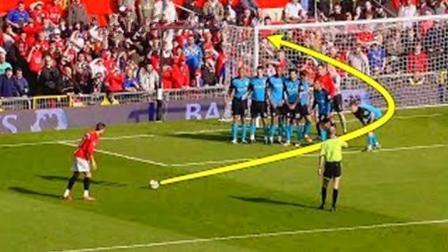 C罗有些进球是梅西模仿不了的, 换别人可能踢不到球门