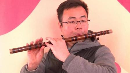 《约定》笛子教学吹奏示范 竹笛初学入门
