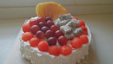 想吃生日蛋糕不用买, 自己在家就能做, 味道和买的一样