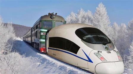 如果给绿皮火车装上高铁车头,会不会变快很多?答案你绝对猜不到