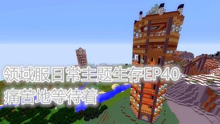 〔极冰〕痛苦地等待着《我的世界Minecraft领域服日常主题生存EP40》