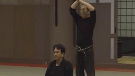 日本剑道高级技巧, 感知杀气闪避来自背后的偷袭