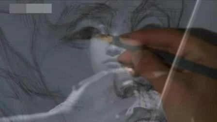 速写图片 水溶性彩色铅笔画教程 国画入门教学视频兰花