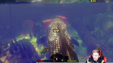 海底大猎杀Fish feed& grow-籽岷的新游戏直播体验 第十三集视频