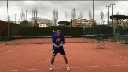 海特网球教学-正反手转身击球训练