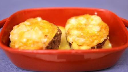 微波芝士焗红薯, 2分钟就能学会, 过年回家自己做, 好吃又营养!