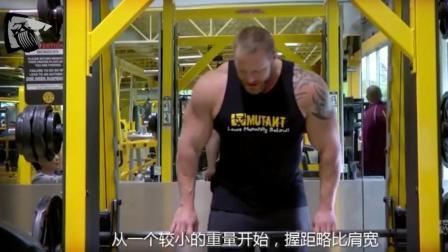 律动: 健身训练, 史密斯架练手臂, 但效果出奇地好!