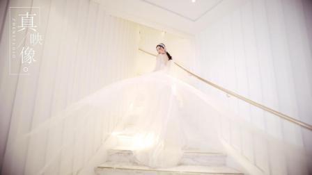 从相识到相恋只用了三分钟「潘温和+孙温柔」真映像电影婚礼快剪
