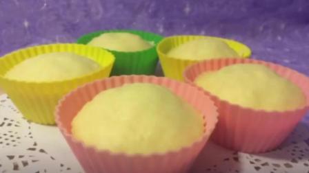 美味蒸蛋糕的家庭做法, 无添加, 好吃不上火
