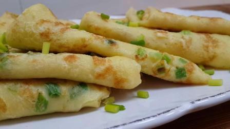 早餐饼最营养的做法, 一袋牛奶筷子一搅, 5张大饼不够吃, 太香了