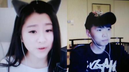 YY菲儿PK连麦赵小磊, 一首歌曲尴尬了