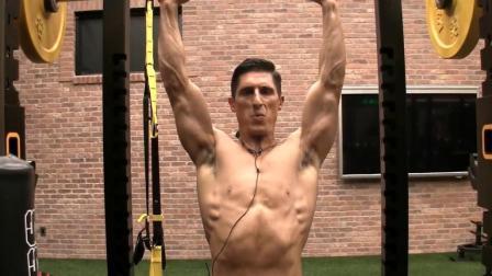 杰夫大叔 正面对决对肩膀最有帮助的肩推训练动作(中文字幕)
