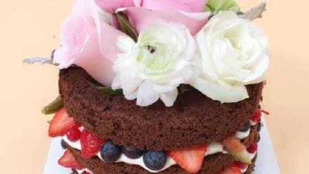 范冰冰李晨订婚蛋糕超唯美 在家也可以学着做